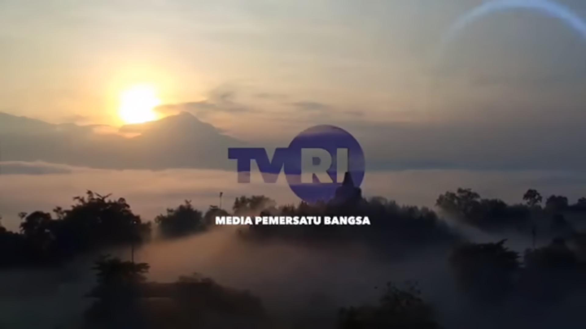 Cuplikan station ID TVRI Jawa Tengah.