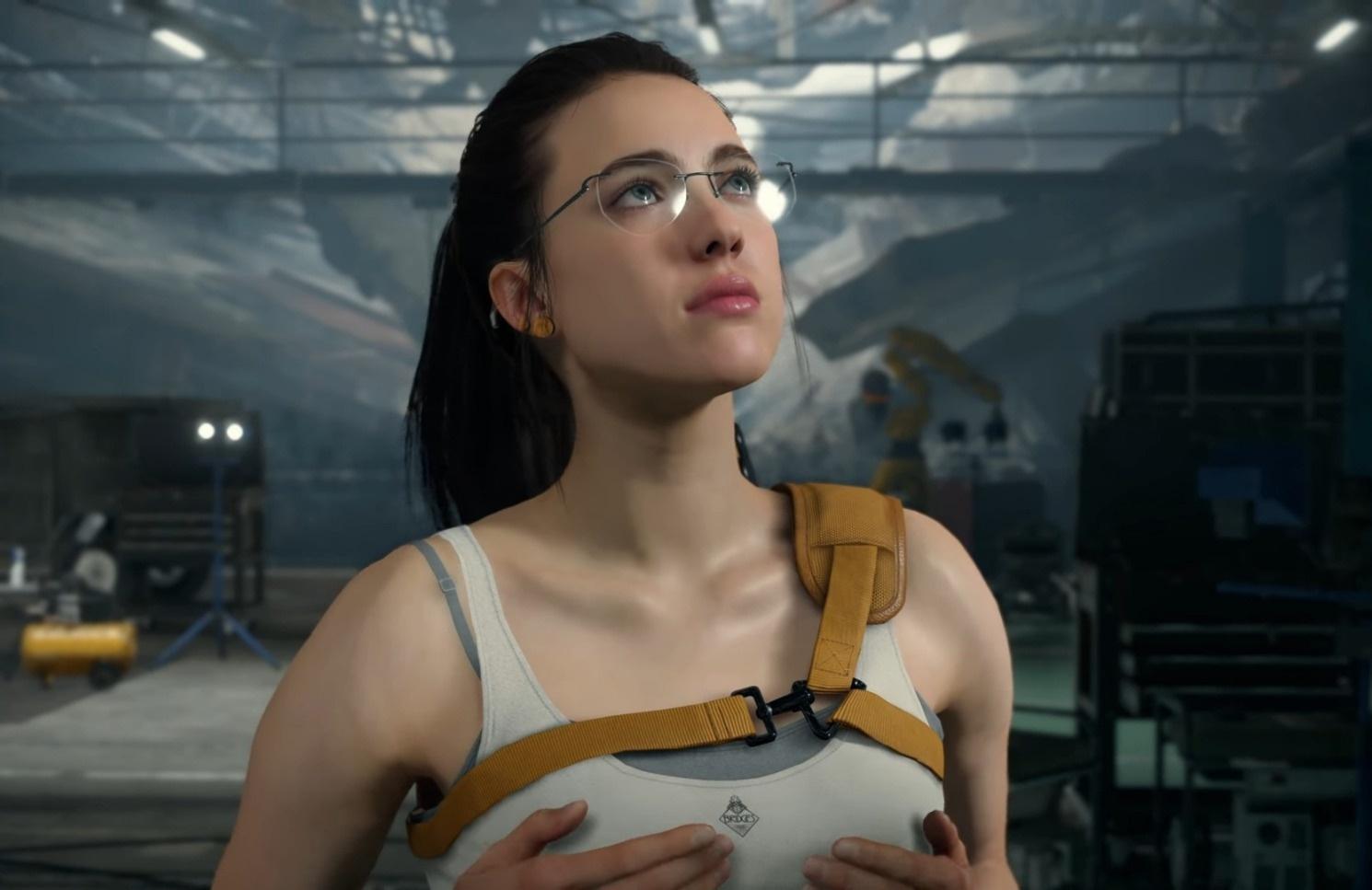 Review Death Stranding PC PS4 Media Formasi Karakter Aktor 4 Cewe Megane Kacamata