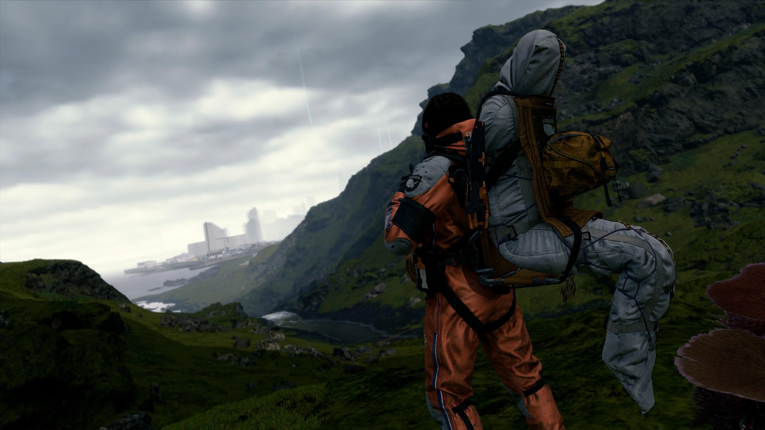 Review Death Stranding PC PS4 Media Formasi Bawa Kargo Kiriman