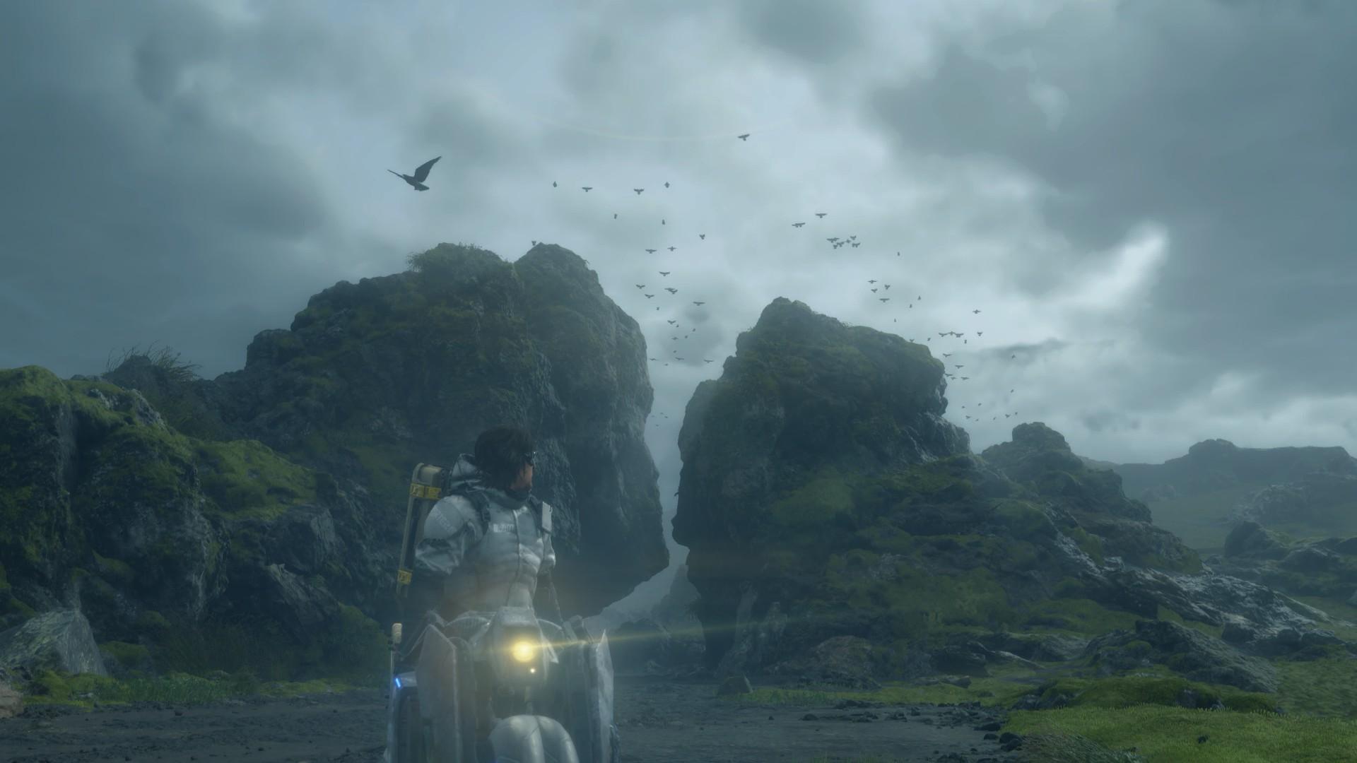 Review Death Stranding PC PS4 Media Formasi World Adventure Landscape Graphics Grafik