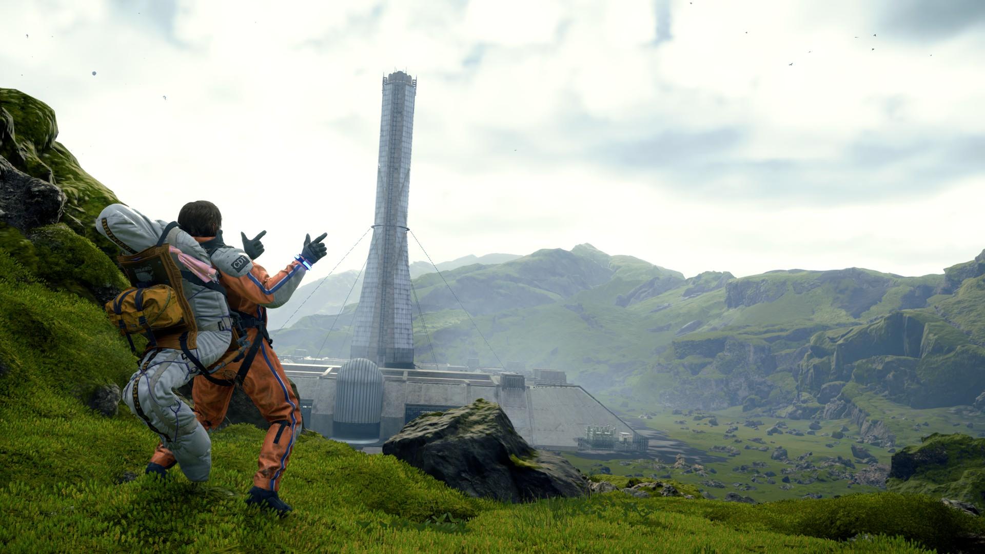 Review Death Stranding Media Formasi PC PS4 Landscape Wallpaper