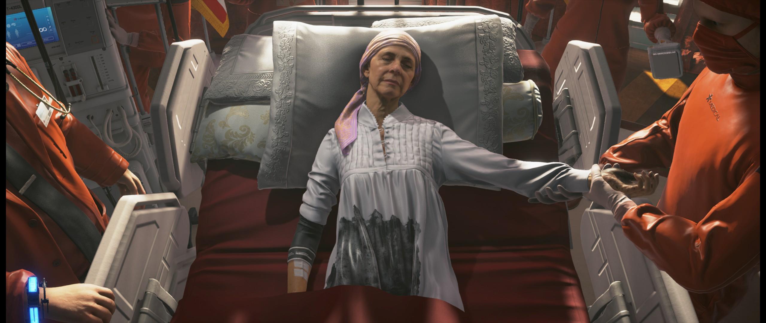 Review Death Stranding Media Formasi Karakter Cewe Nenek 2