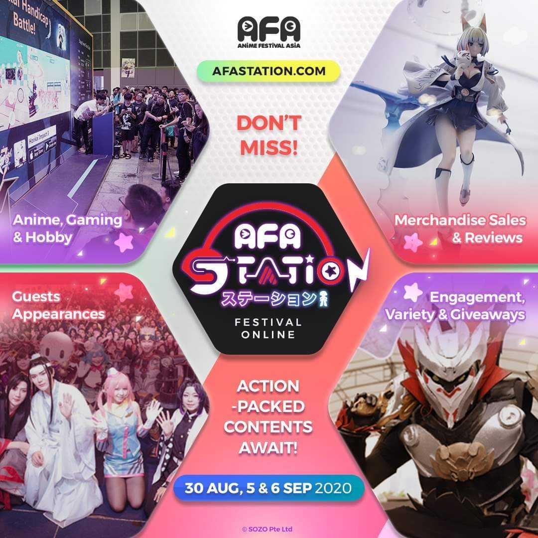 AFA Station Festival Online Week Indonesia AFAID 2020 Teaser Trailer